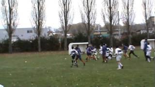 preview picture of video 'RCBM2 vs RC SUCY HAUT VAL DE MARNE (moins de 13 ans) 2EME MT 27/11/2010'