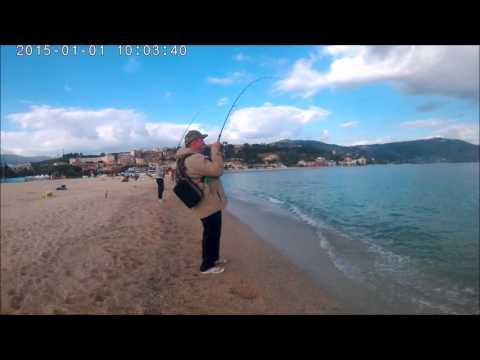 La pesca su una picca nellestate di zherliyets