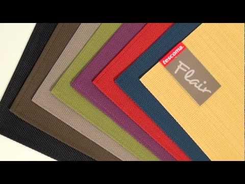 Video TESCOMA prostírání FLAIR CLASSIC 45x32 cm, granátová 2