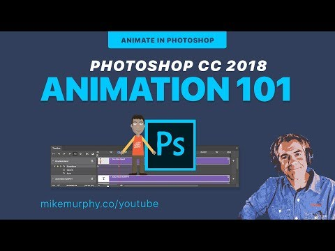 Photoshop CC: How To Make A Simple Video Animation