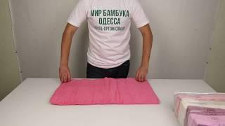 Полотенце махровое, 50 х 90 см., 6 шт./уп. 880107 от компании Текстиль оптом, в розницу от 1 грн. МИР БАМБУКА, Одесса, 7 км. - видео