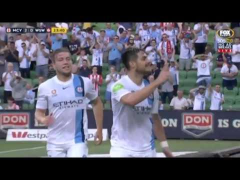 Hyundai A-League 2015/16 Round 14: Melbourne City 3 – 2 Western Sydney Wanderers