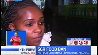 Outrage after SGR bans food or drinks from outside