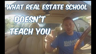 What Real Estate School DOESN'T TEACH YOU