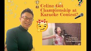 Celine Got Championship at Karaoke Contest?