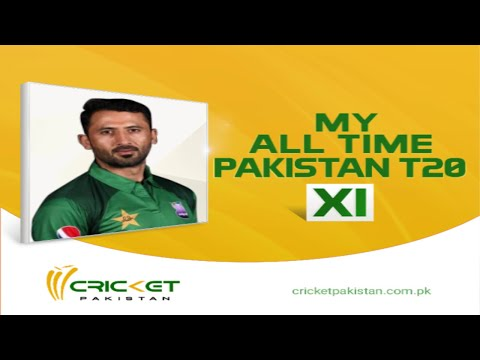 Junaid Khan reveals his all-time Pakistan T20 XI