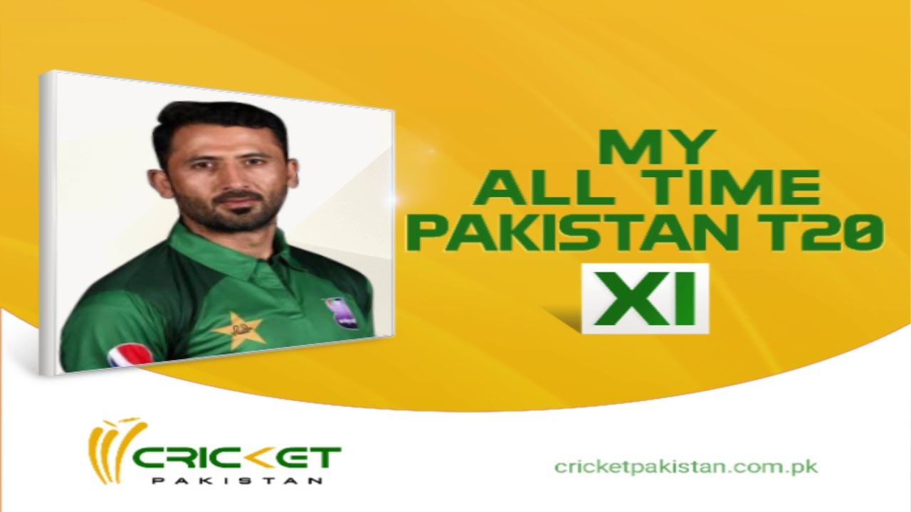 junaid khan reveals his all time pakistan t20 xi