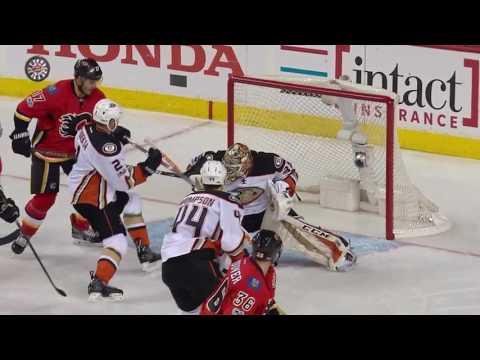 Anaheim Ducks vs Calgary Flames - April 17, 2017 | Game Highlights | NHL 2016/17