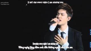 [Vietsub + Kara + Engsub] 120818 Missing you - EXO D.O. & Ryeowook @ DVD SM TOWN live tour in Seoul