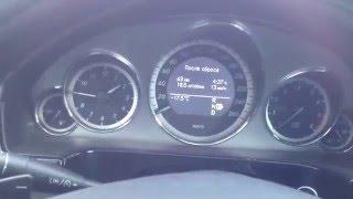 Холодный запуск мотора M272 Mercedes W212 после капиталки