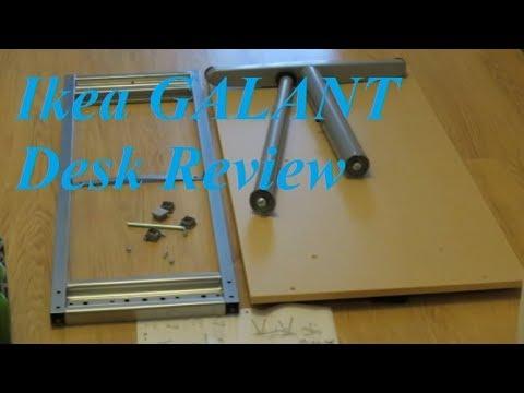 Review: Ikea GALANT Desk (A-Legs + T-Leg)