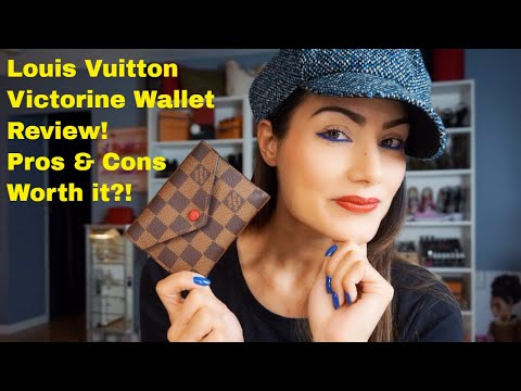 Louis Vuitton – Victorine Wallet Review – Damier Ebene Print!