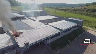 Detentos incendeiam colchões em rebelião na Penitenciária de Livramento