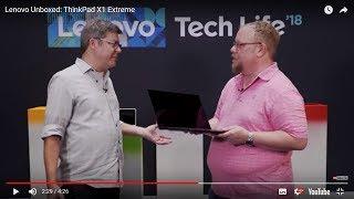 Video 1 of Product Lenovo ThinkPad X1 Extreme G2 Laptop
