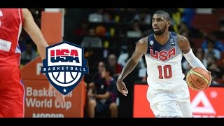 Kyrie Irving Team USA MVP Offense Highlights (2014) - INSANE!!!