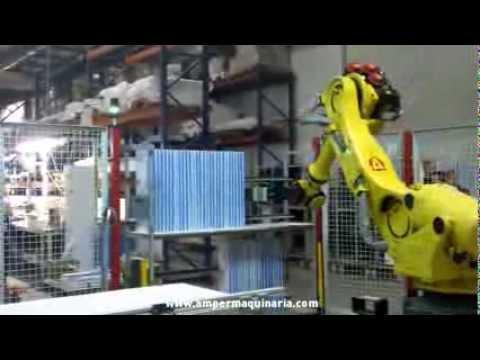 Aplicación robot antropomorfo / Anthropomorphic robot application