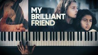 HBO's MY BRILLIANT FRIEND   ELINA & LILA THEME (Piano, Harp And Violin Cover)