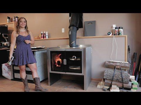 Firebelly Razen Wood Cook Stove - Temperature Readings