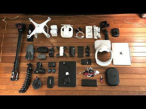 Gear I Use To Make Videos (Gear Tour Late 2017)