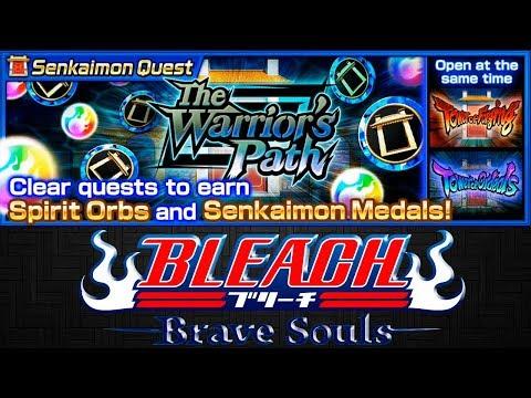 ПРОХОЖДЕНИЕ SENKAIMON QUEST - THE WARRIOIR'S PATH (Extra Floors)   Bleach Brave Souls #613