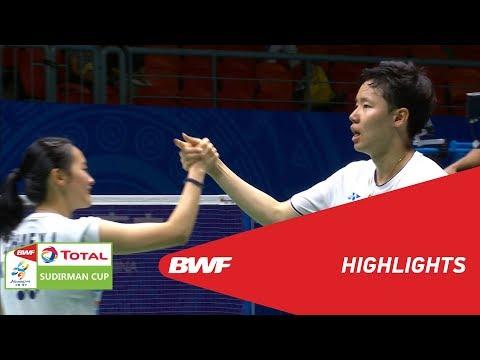 TOTAL BWF SUDIRMAN CUP 2019 | XD | CHINESE TAIPEI VS KOREA | BWF 2019