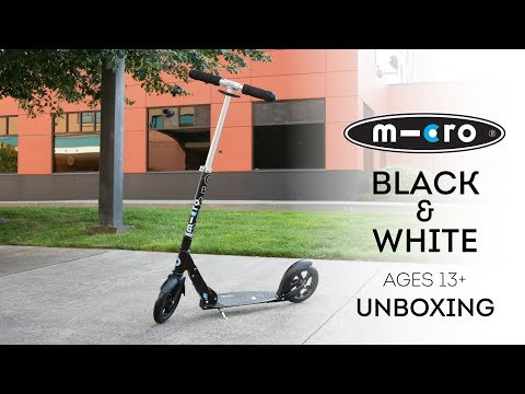 Micro Black and Micro White Scooter Unboxing | by Micro Kickboard