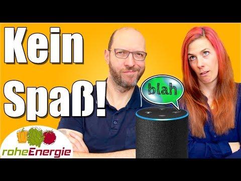 VEGANER verstehen KEINEN Spaß 😂 Featuring Amazon Alexa