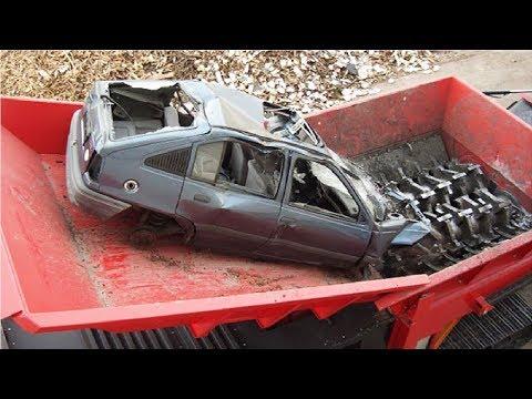 Amazing Modern Technology Machine Crushing Cars & Destroy Anything - Extreme Fast Crushed Everything