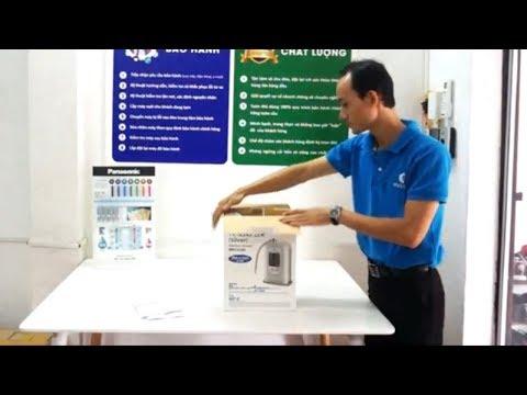 Đập hộp và cách lắp đặt máy lọc nước ion kiềm Panasonic TK-AS45