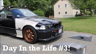 Day in the Life #3: Oil Changes, Car Meet, & I Drive the Turbo E36! by Ignition Tube