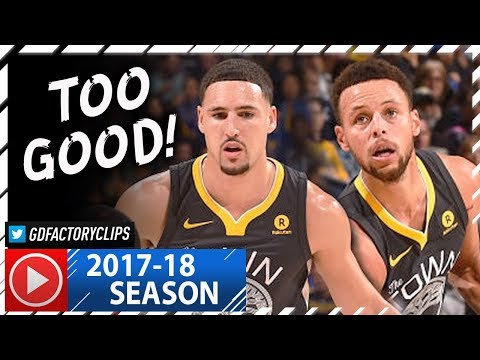 Stephen Curry 27 Pts & Klay Thompson 24 Pts Full Highlights vs Pelicans (2017.11.25) - SPLASH BROS!