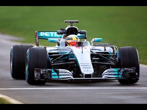 Mercedes unveils W08 EQPower+ at Silverstone
