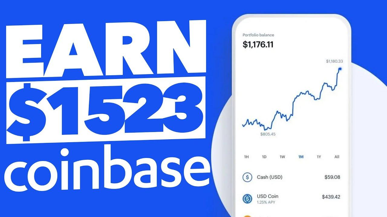 Generate $1,523/Week On Coinbase (Quick Method) |Make Money Online thumbnail