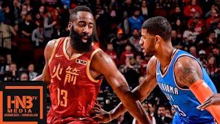 Houston Rockets vs Oklahoma City Thunder Full Game Highlights | 02/09/2019 NBA Season