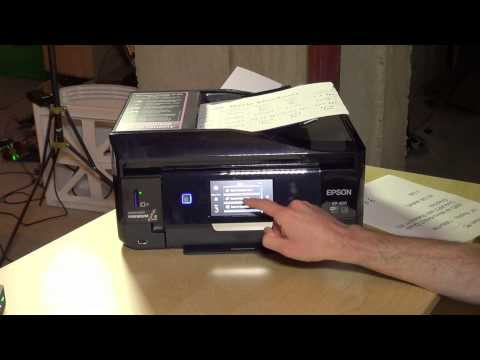 Epson Expression Premium XP-820 Wireless Photo Printer Review – Scanning & DVD / CD Printing Demo