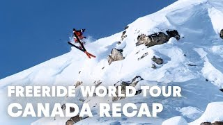 Freeride World Tour Full Highlights From Kicking Horse, Canada