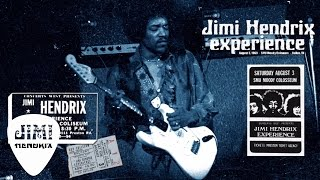 The Jimi Hendrix Experience - Foxey Lady (Dallas 1968)