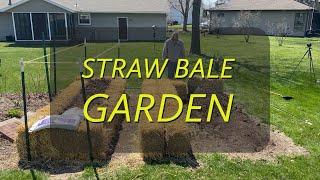 How I Start a Straw Bale Garden