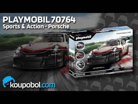 Vidéo PLAYMOBIL Sports & Action 70764 : Porsche 911 GT3 Cup