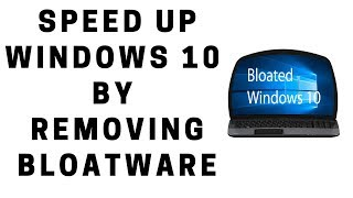 Difference Between Bloated and Debloated Windows 10 1903