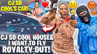 I FOUND OUT WHO PAINTBALLED CJ SO COOL HOUSE & SHOULD I FLY ROYALTY & HER KIDS?