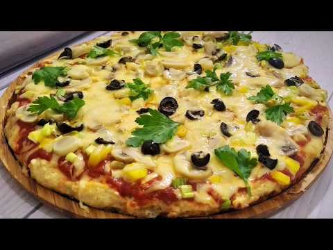 Пицца/ Рецепт пиццы без теста/ Пппицца / Pizza  Recipe without dough