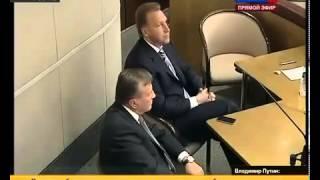 Путин разозлился не на шутку !!