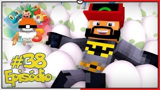 Sandile  - (Pokémon) - Minecraft A Lenda dos Campeões 3 #38 - 100 Ovos do Sandile Super Sayajin [Pixelmon]