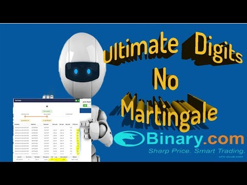 Ultimate Digits No Martingale 1| Bot For Binary.com -  Free Download | 98% Accuracy