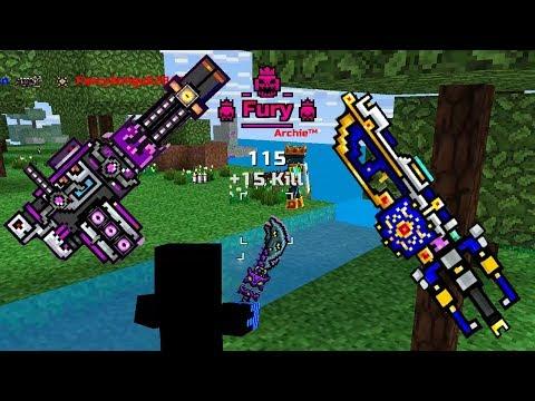 Pixel Gun 3D - BEST WEAPON IN MAGE BATTLE - New Update / Fury Kill