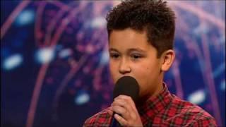 [+captions] Shaheen Jafargholi (HQ) Britain's Got Talent 2009