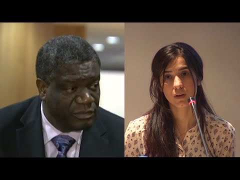 Nadia Murad y Denis Mukwege, Nobel de la Paz