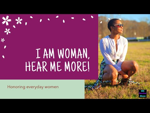I Am Woman, Hear Me More (video)