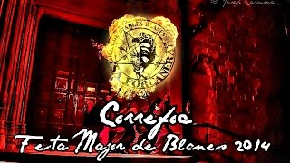 preview picture of video 'Diables Sa Forcanera. Correfoc Festa Major de Blanes 2014'